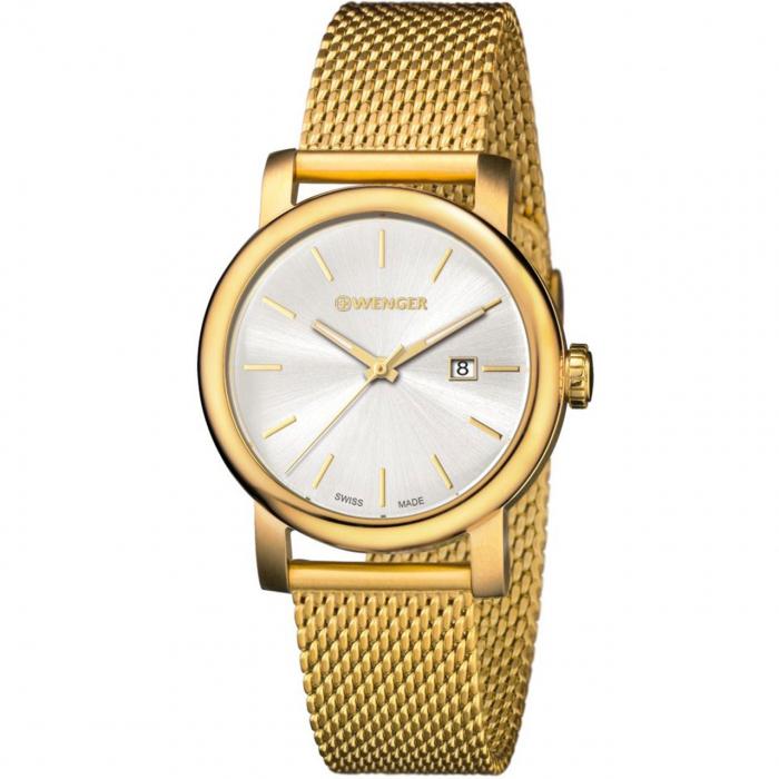 ساعت مچی عقربه ای زنانه ونگر مدل 01.1021.118