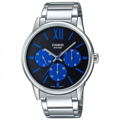 ساعت مچی عقربه ای مردانه کاسیو مدل MTP-E312D-1B2VDF