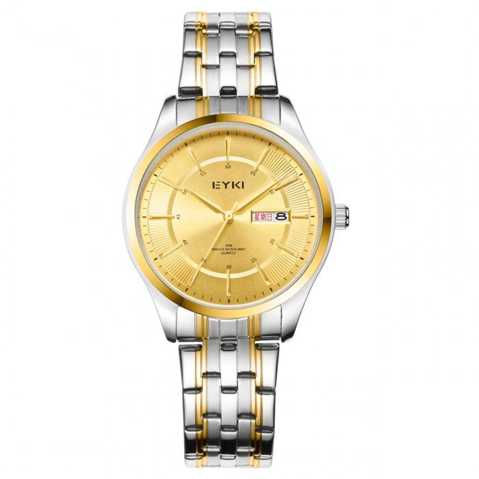 ساعت مچی عقربه ای مردانه ایکی مدل Eet2012L
