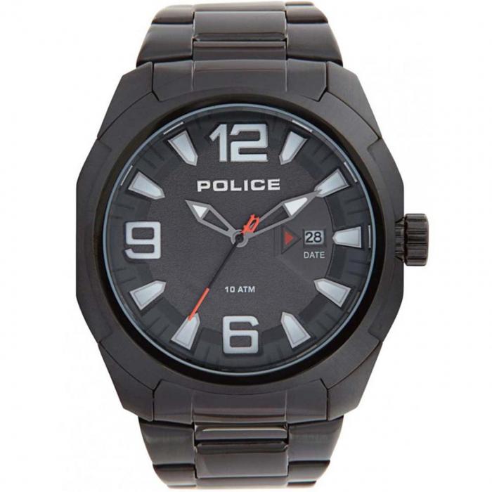 ساعت مچی عقربه ای مردانه پلیس مدل PL13928JSB