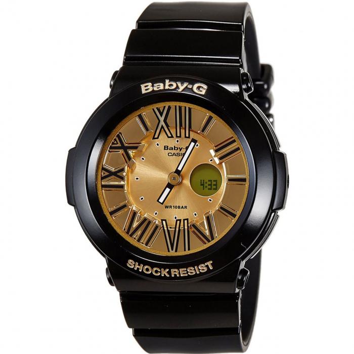 ساعت مچی عقربه ای زنانه کاسیو مدل BGA-160-1BDR