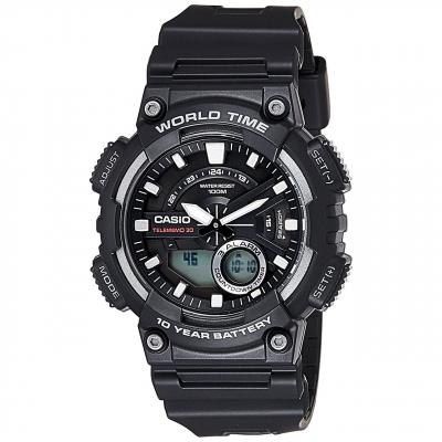ساعت مچی عقربه ای مردانه کاسیو مدل AEQ-110W-1AVDF