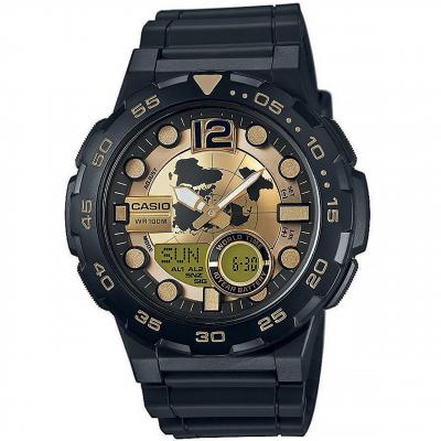 ساعت مچی عقربه ای مردانه کاسیو مدل AEQ-100BW-9AVDF