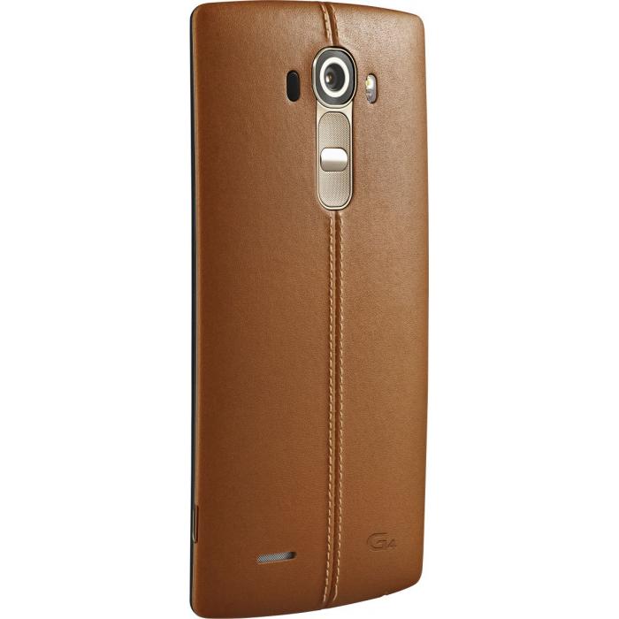 گوشی موبایل الجی مدل G4 H818P دو سیمکارت ظرفیت 32 گیگابایت با قاب پشتی چرمی