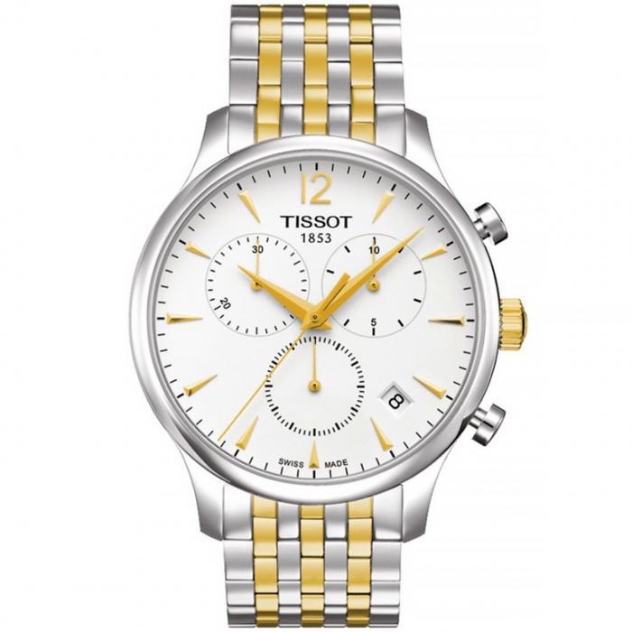 ساعت مچی عقربه ای مردانه تیسوت مدل T063.617.22.037.00