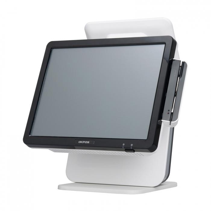 صندوق فروشگاهی POS لمسی 17 اینچ اوکی پوز مدل ZED-5