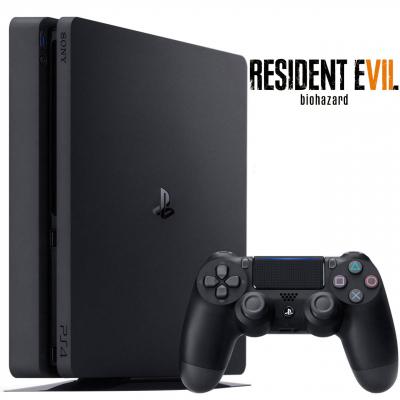 کنسول بازی سونی مدل Playstation 4 Slim کد  Region 2 - CUH-2016 ظرفیت 1 ترابایت (مشکی)
