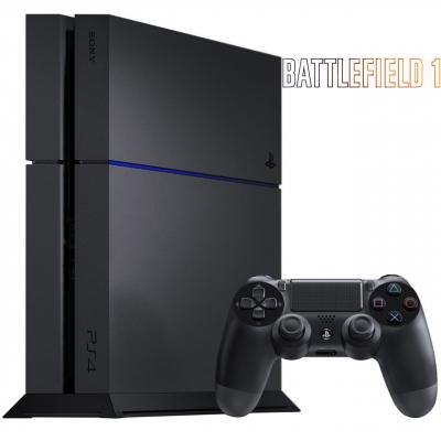 مجموعه کنسول بازی سونی مدل Playstation 4 کد CUH-1216B ریجن 2 - ظرفیت 1 ترابایت